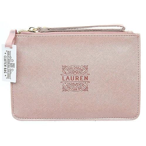 Personalised Clutch Bag - Lauren