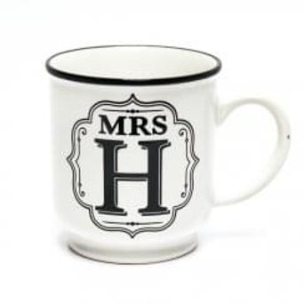 Alphabet Mugs - Mrs H