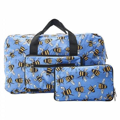 Blue Bees Holdall