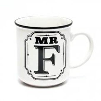 Alphabet Mugs - Mr F