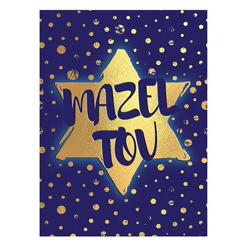 KJ-721 Mazel Tov Card