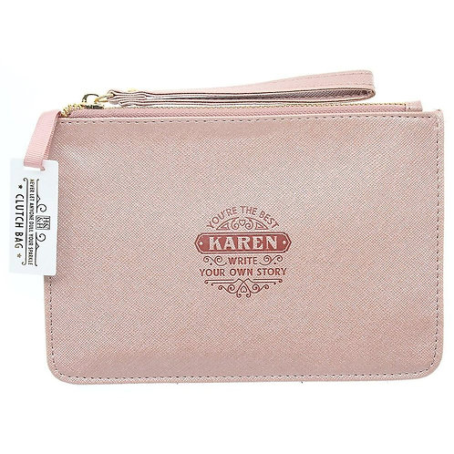 Personalised Clutch Bag - Karen