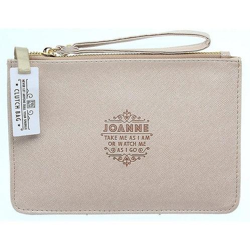 Personalised Clutch Bag - Joanne