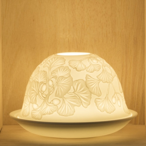 Nordic Lights Candleshade T-Light Holder - Dangling Flowers