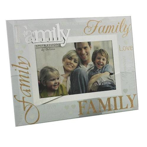 Glass Photo Frames - Family