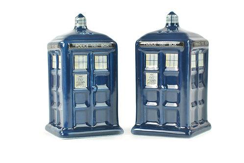 Doctor Who Salt & Pepper Shakers - Tardis