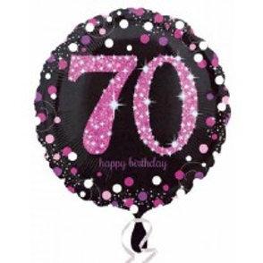 70th Birthday Foil Balloon