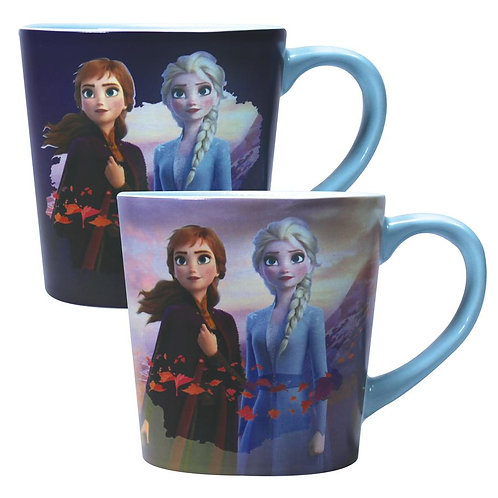 Frozen 2 Heat Changing Tapered Mug - Destiny