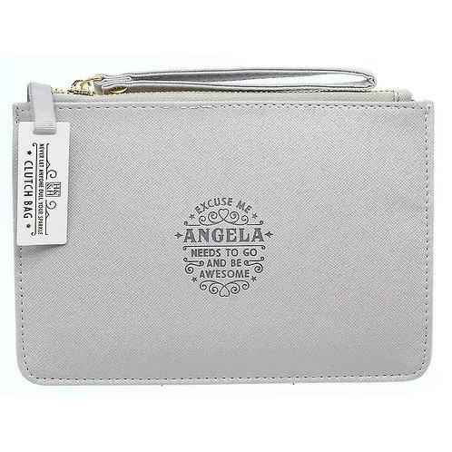 Personalised Clutch Bag - Angela