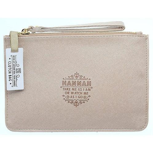 Personalised Clutch Bag - Hannah