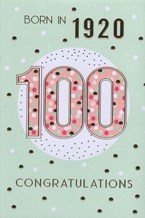 IC&G 100th Female Year You Were Born