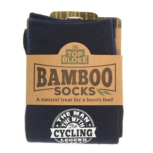 Personalised Bamboo Socks - Cycling