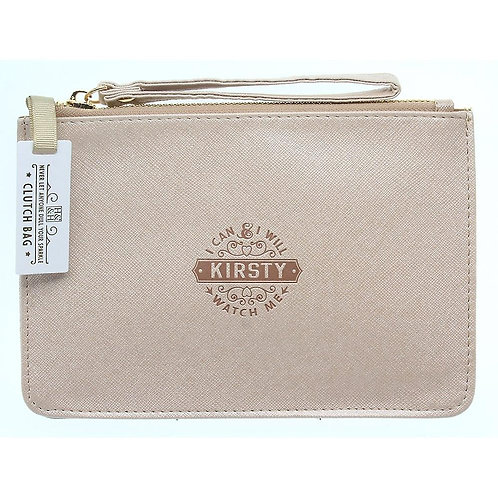 Personalised Clutch Bag - Kirsty