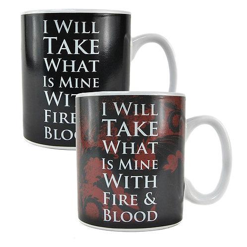 Game of Thrones Heat Changing Mug - Daenerys Targaryen