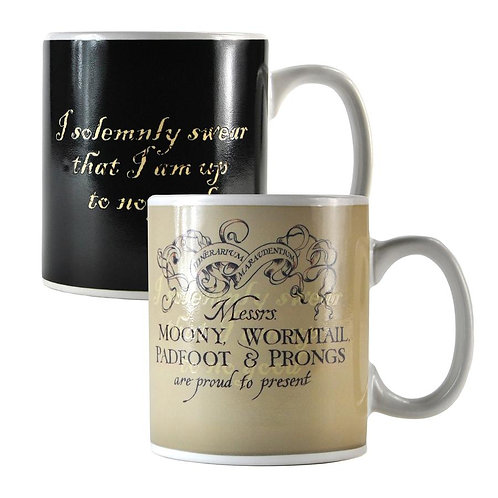 Harry Potter Heat Changing Mug - Marauders Map
