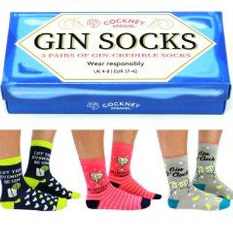 Gin Socks Gift Box
