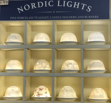 Nordic Lights Candleshade T-Light Holders