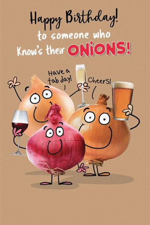 Just a Laugh - Onions