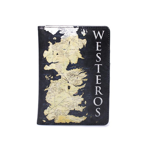 Game of Thrones Passport Holder - Westeros Map