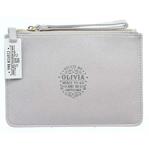 Personalised Clutch Bag - Olivia