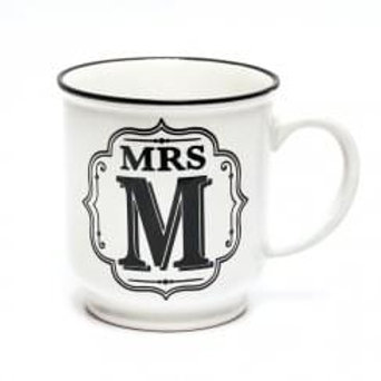 Alphabet Mugs - Mrs M