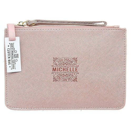 Personalised Clutch Bag - Michelle