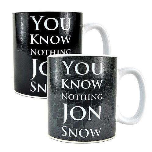 Game of Thrones Heat Changing Mug - Jon Snow