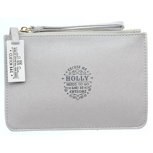 Personalised Clutch Bag - Holly