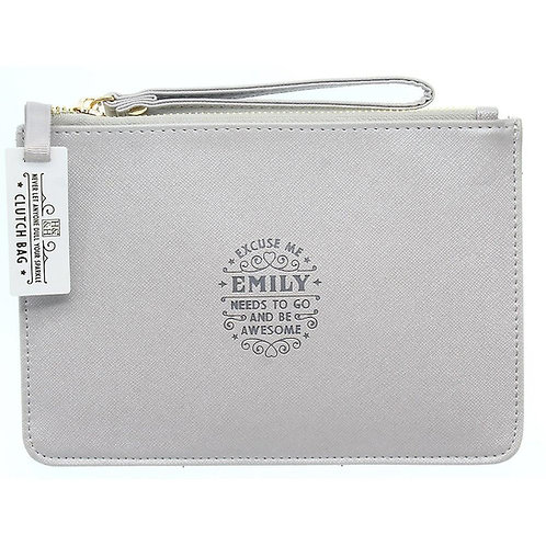 Personalised Clutch Bag - Emily