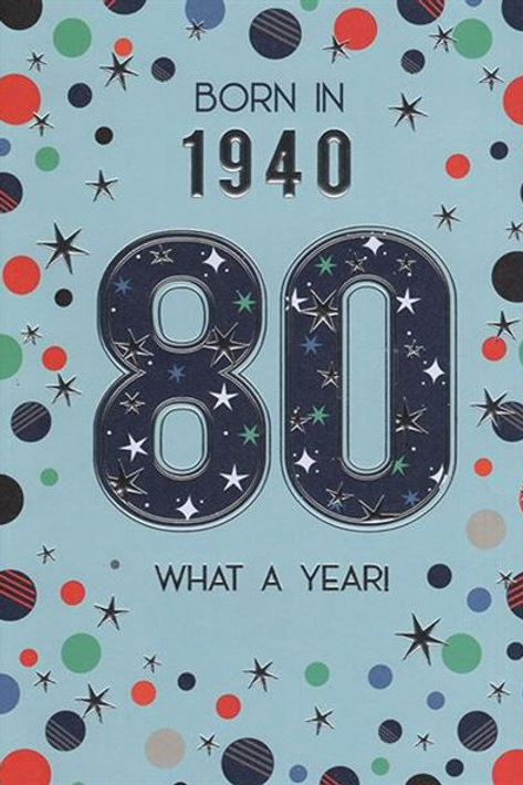 IC&G 80th Male Year You Were Born
