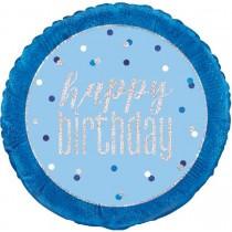 Foil Happy Birthday Balloons