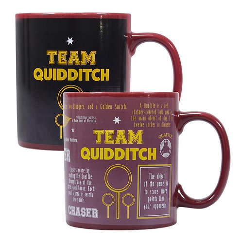 Harry Potter Heat Changing Mug - Quidditch