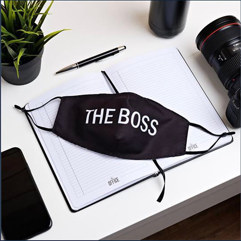 The Office Reusable Face Mask - The Boss