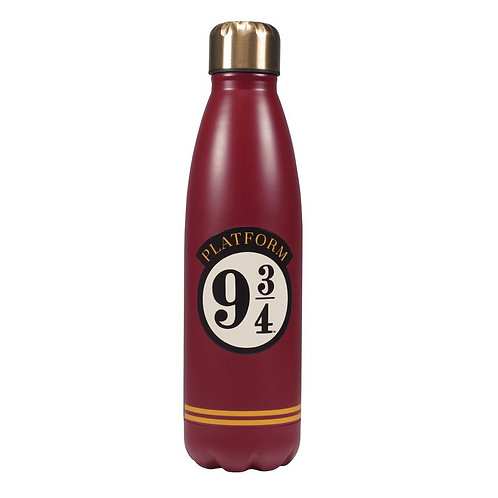 Harry Potter Metal Water Bottle - Platform 9 3/4