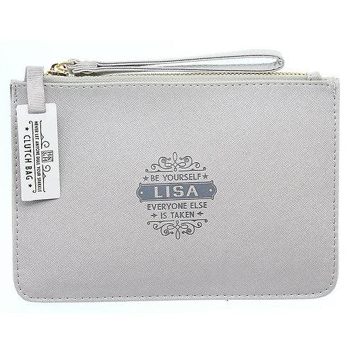 Personalised Clutch Bag - Lisa