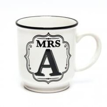 Alphabet Mugs - Mrs A