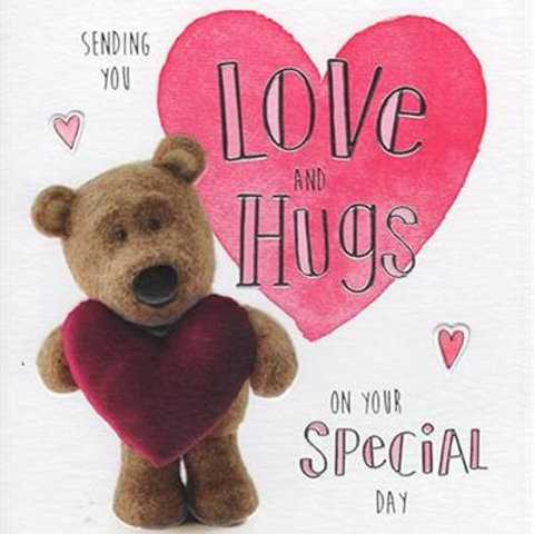 Open Bday - Barley Love & Hugs