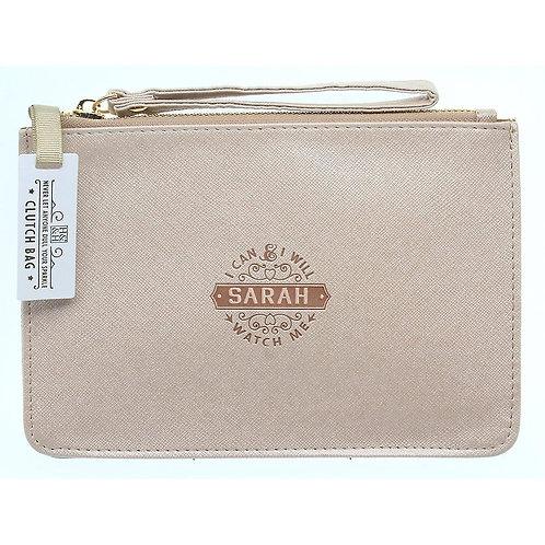 Personalised Clutch Bag - Sarah