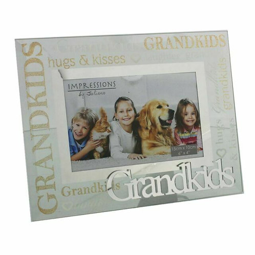 Glass Photo Frame - Grandkids