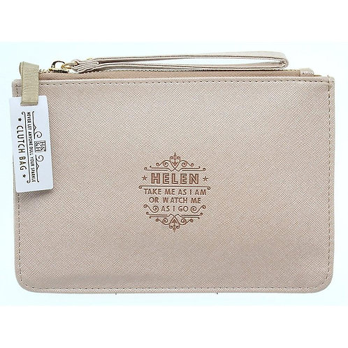 Personalised Clutch Bag - Helen