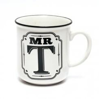 Alphabet Mugs - Mr T