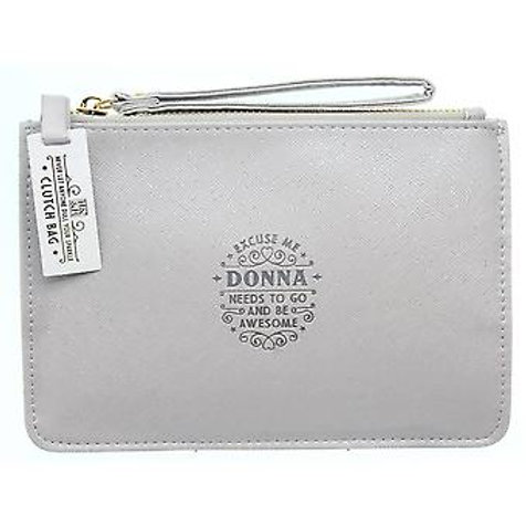 Personalised Clutch Bag - Donna