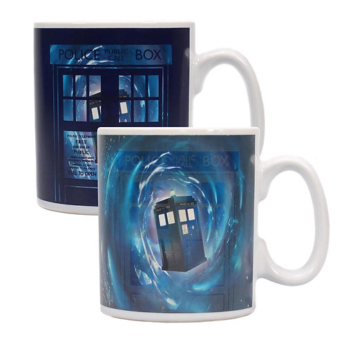 Doctor Who Heat Changing Mug - Time Lord