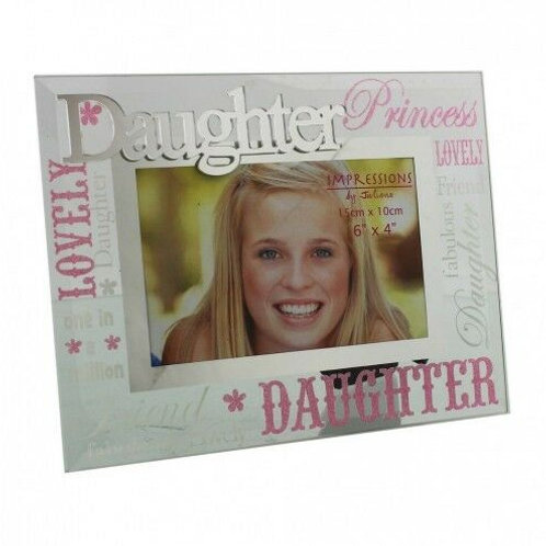 Glass Photo Frame - Daughter