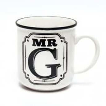 Alphabet Mugs - Mr G