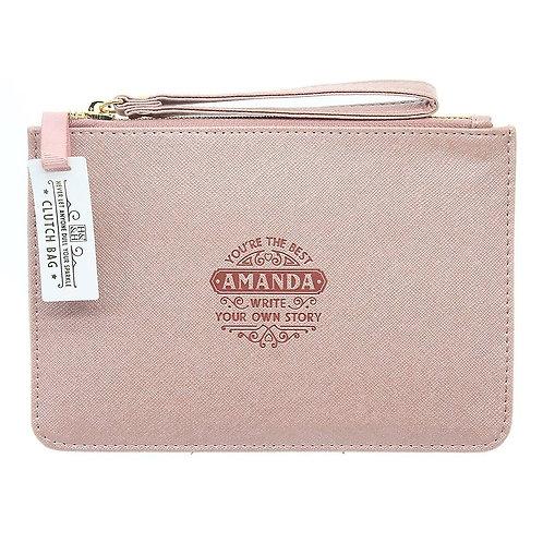 Personalised Clutch Bag - Amanda