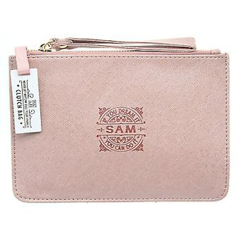 Personalised Clutch Bag - Sam
