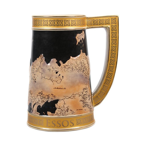 Game of Thrones Stein Mug - Westeros Map