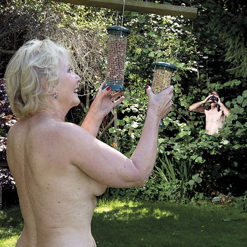 Naughty Nudes Watching The Birds - C2456