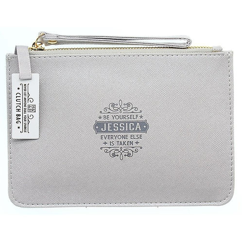Personalised Clutch Bag - Jessica